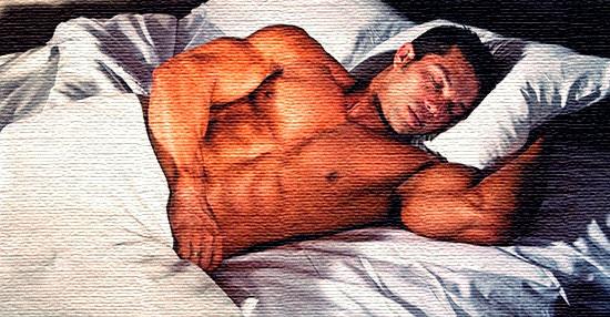 sleep-bodybuilder