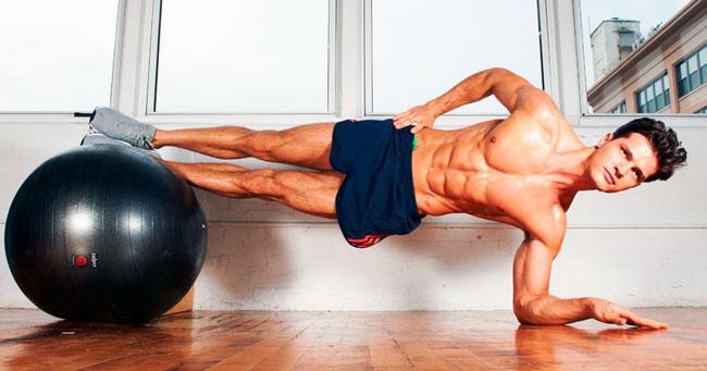 Упражнения для мышц кора