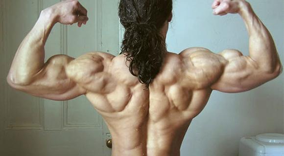 сухие мышцы спины вид сзади