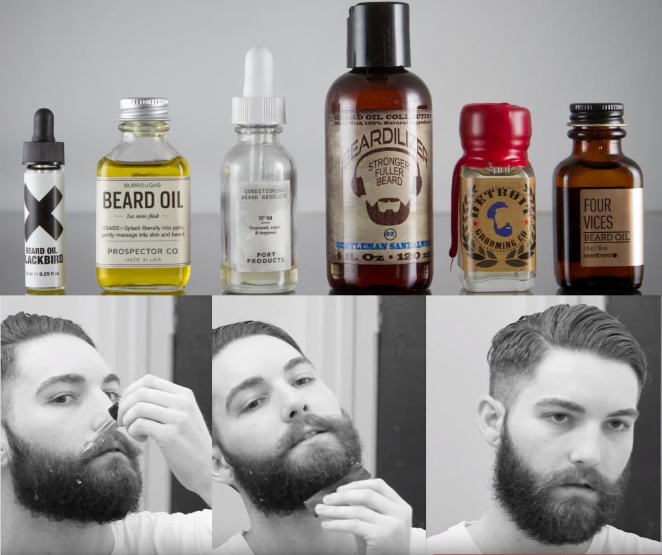 Используйте масло для бороды
