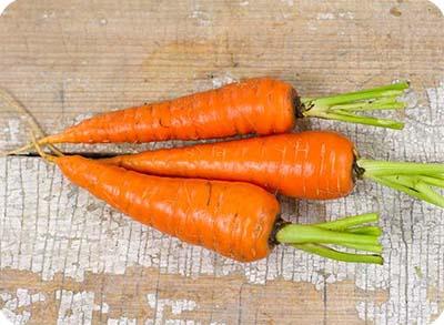 нечищенная морковь