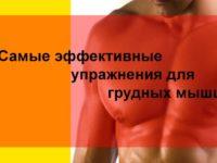 Самые эффективные упражнения для грудных мышц