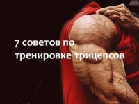 7 советов по тренировке трицепсов