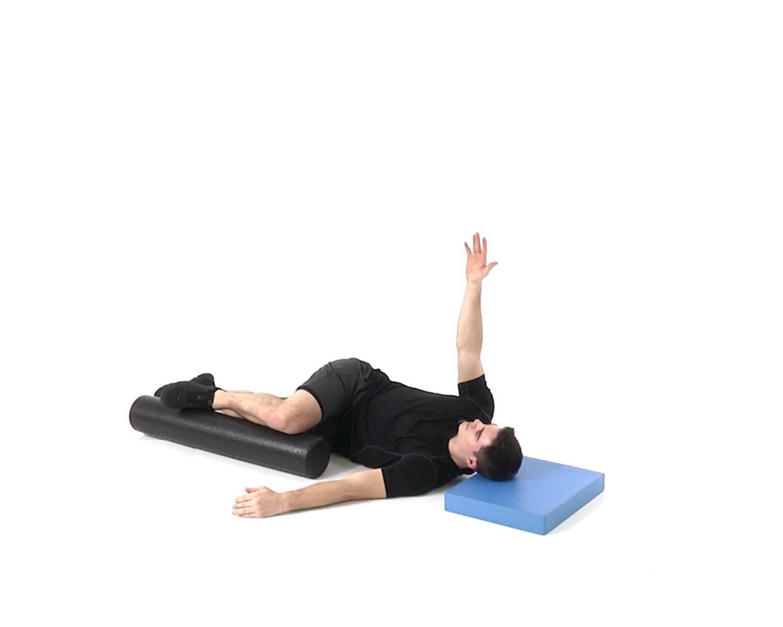 вращательные упражнения нижней части спины